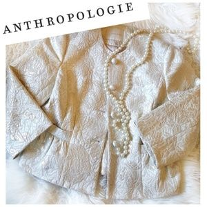 NWOT Anthropologie Brocade Blazer
